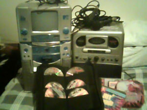 KARAOKE  MACHINE 1 Professional + quality Sound,1 Beginner