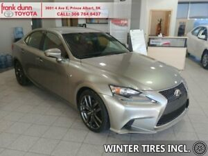 2015 Lexus IS 250 F Sport 1  - Leather Seats -  Cooled Seats - $