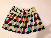 Ted Baker Mini Skirt size 2 ladies