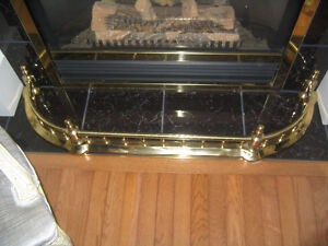 Brass Fireplace Hearth / Guard