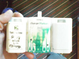 Xbox batteries and charger , comes with two sets of batteries