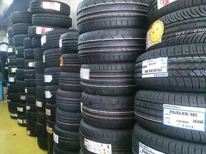 ALL SEASON AND WINTER TIRE SALE FREE INSTALLATION AND BALANCING