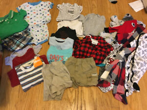 BOYS 6-18 MONTH CLOTHING LOT