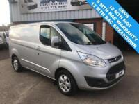 2016 16 FORD TRANSIT CUSTOM 2.0 270 TOP OF RANGE LIMITED 130 BHP FULLY LOADED