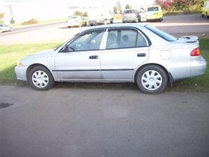 TAX INCLUDED !2001 Toyota Corolla $1750