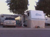 Park Model 5th Wheel Trailer Yuma Arizona RV Resort