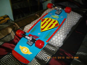 Two Skateboard's Sims BB Fully Complete, Z flex Tribute Deck