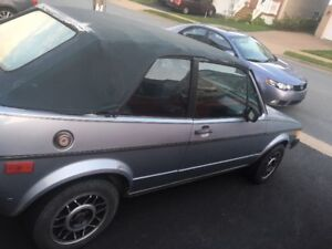 1982 Volkswagen Rabbit Convertible