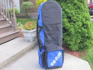Travel Golf Bag Cover Padded with Carrying Strap