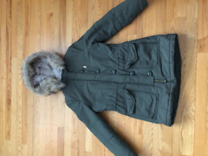 American eagle  winter jacket in excellent condition .