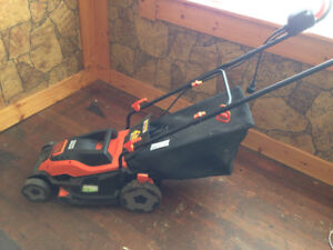 Snow almost gone! ELECTRIC LAWNMOWER - Great deal!