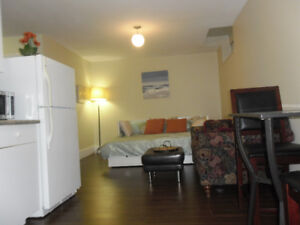 /pw fully furnished/private entry suite min two weeks or longer