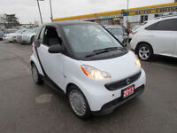 2013 Smart Fortwo Automatic, Only 49000 km, No accident, Certify