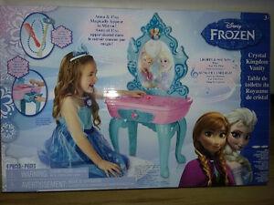 FROZEN Crystal Kingdom Vanity (New Sealed)