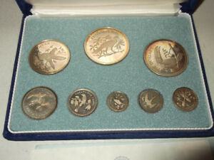 1974 Silver Coins of Belize