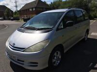 2002 TOYOTA PREVIA 8 SEATER DIESEL