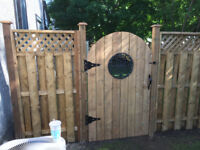 Fencing installation and repair, all aspests of Landscaping