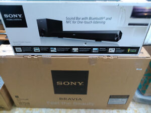 Sony bravia 50 inch smart tv led 3d + Sony HT-CT60BT - Sound bar