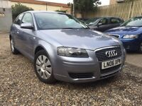 AUDI A3 1.6 AUTOMATIC 2006, BMW 1 SERIES, VAUXHALL ASTRA, FORD FOCUS, VOLKSWAGEN GOLF