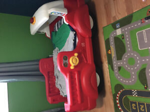 Toddler Fire Truck Bed
