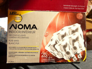 2 sets of Noma indoor lights, resemble ice cubes BNIB