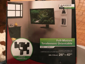 "Super Slim Full motion TV Wall Mount 26"" - 47"""