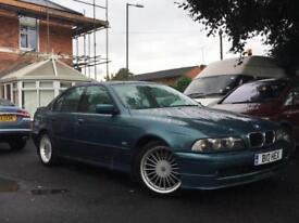 2001 BMW E39 INDIVIDUAL Alpina 3.3 B10 AUTOMATIC, GREEN, FACELIFT