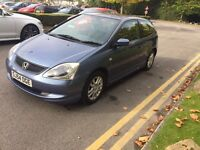Honda Civic se 1.6 2004 3dr beautiful condition