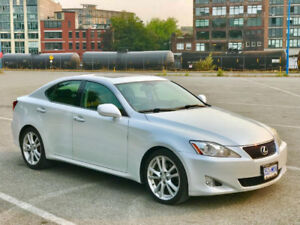 06 Glacier White Lexus IS250