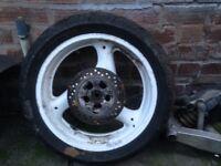 Suzuki Gsxr rear wheel