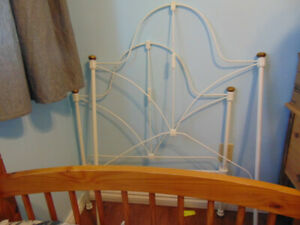 Antique Wrought Iron Bed frame