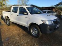 2014 Toyota Hilux Active DCab Pick Up 2.5 D 4D 4WD 144 4 door Pick Up