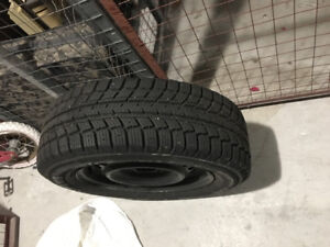 Winter Tire 195/65/R15 with rim