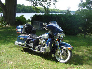 Harley Touring Motorcycle - Travel  in Comfort and Style