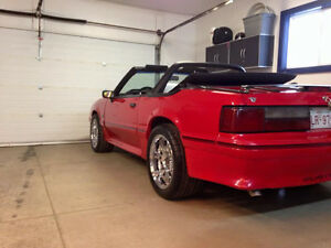 1988 Ford Mustang Convertible many performance updates