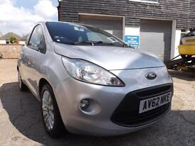 Ford Ka 1.2 ( start / stop ) 2012 Zetec 63000 MILES DRIVE AWAY TODAY!