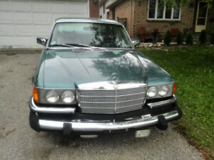MB 1980, 450 SEL, (4.5 LITRE), ORIGINAL PAINT, WELL- MAINTAINED