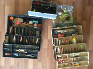 Vintage Fishing Lures with Boxes