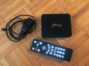 Jadoo3 TV Box with Remote (Needs Software Update)