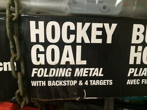 Hockey goal net new in box