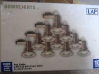 New set of 10 spot lights