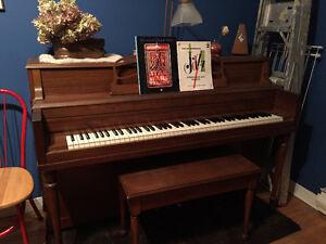 Échange — Piano droit contre clavier électronique