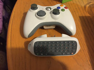 Manette+Power supply xbox 360slim+chargeur manette+Jeux XBOX 360