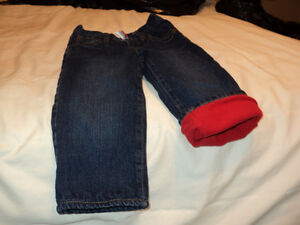 OLD NAVY FLEECE LINED JEANS