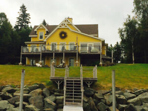 Waterfront home on the Richibucto River in Rexton NB
