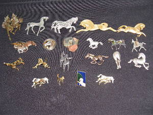 Broches «chevaux»