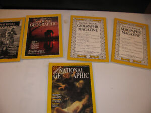 National Geographic Magazines( Aug,1948 ,1949)May91,July91Dec01