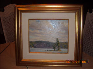 """GULL ISLAND"" Algonquin Park 'Oil on Board'"