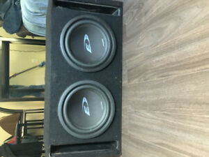 "12"" ALPINE SUBWOOFERS NEED GONE 300.00 OBO"