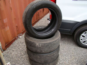 P235/55R17 Michelin X-Ice 4 Used Snow Tires